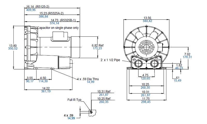 Regenerative Blower GAST R5 Series